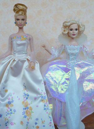 2015 Helena Bonham Carter as Fairy Godmother, Cinderella Wedding Day (3)