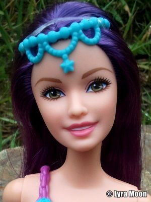2015 Mix & Match Mermaid Barbie, purple CFF30