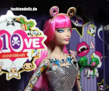 2015 tokidoki Barbie pink, BlackLabel (04)