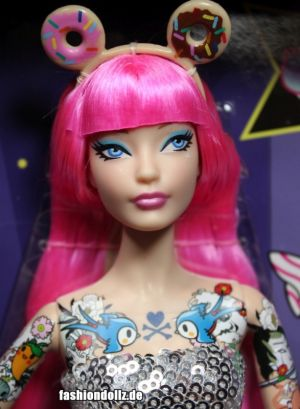 2015 tokidoki Barbie pink, BlackLabel