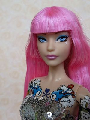 2015 tokidoki Barbie pink, BlackLabel (27)