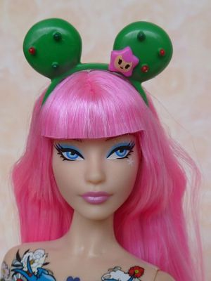 2015 tokidoki Barbie pink, BlackLabel (33)