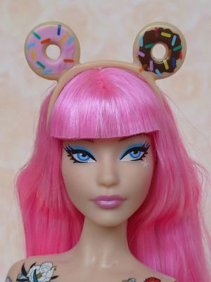 2015 tokidoki Barbie pink, BlackLabel (34)