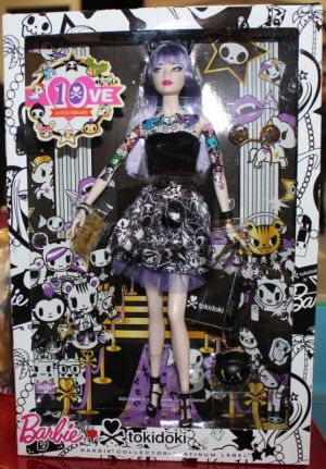 2015 tokidoki Barbie purble, Platinum Label (04)