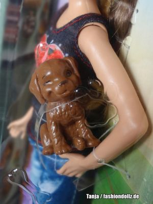 2015 Barbie & Her Sisters in The Great Puppy Adventure - Skipper & Dog CLF98