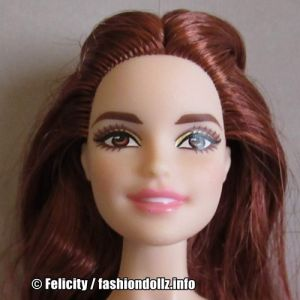 2016 Holiday Barbie, Redhead DWJ14
