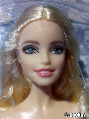 2016 Holiday Barbie, blonde DGX98 (2)