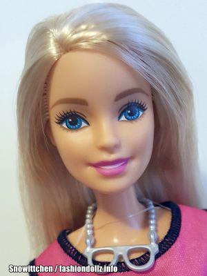 2017  D.I.Y. Emoji Style Barbie, blonde DYN93