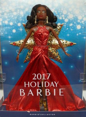 2017 Holiday Barbie AA