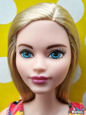 2017 Standard Fashion Barbie, Floral Dress - blonde
