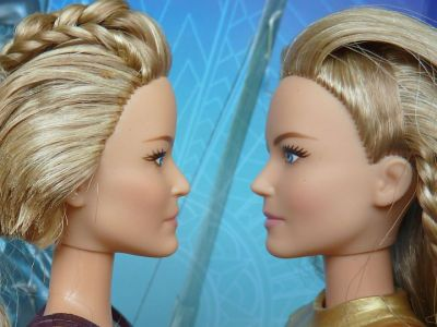 Vergleich Antiope (left) and Hippolyta (right) (2)
