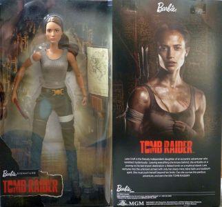 2018 Alicia Vikander - Lara Croft Barbie, Tomb Raider (4)