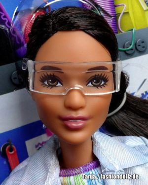 2018 Career Of The Year - Robotics  Engineer Barbie, brunette FRM11