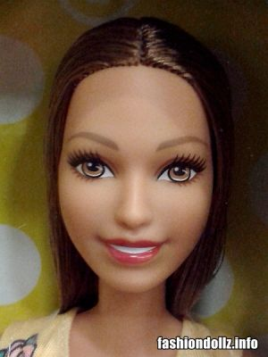 2018 Fashion Barbie, yellow dress FJF17