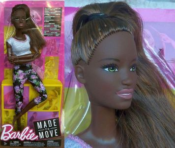 2018 Made to Move - Fitness Barbie AA FTG83