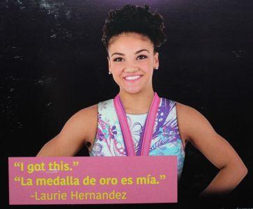 2018 Laurie Hernandez Barbie # FJH69