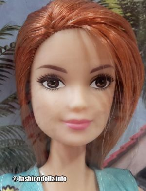 2018 Fashion Barbie, blue / blau - redhead FJF18