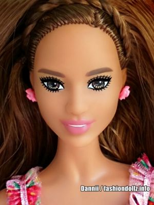 2019 Birthday Wishes Barbie, brunette FXC78