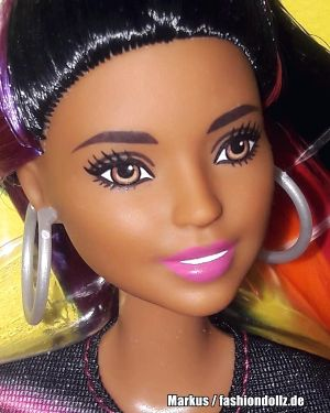 2019 Rainbow Sparkle Hair Barbie AA FXN97