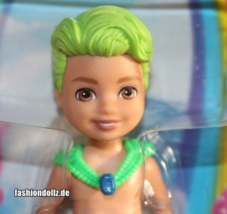 2020 Barbie Dreamtopia Chelsea Mermaids - Green Hair Boy #     GJJ91