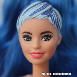 2020 Color Reveal Wave 2 Barbie - Eats 'n Treats  - Popcorn