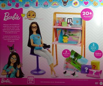 2020 Cookie Swirl C Barbie Playset # GLJ38