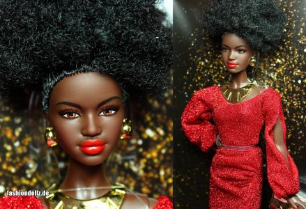 2020 First Black Barbie 40th Anniversary #GLG35