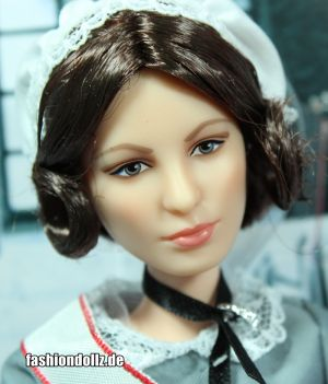 Florence Nightingale Barbie  #GHT87mit Louboutin Face