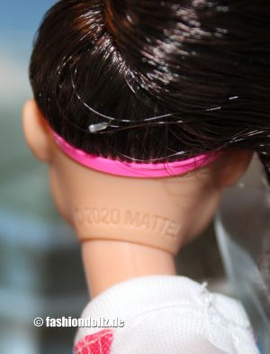 2020 Shero Alex Morgan Barbie Headmark