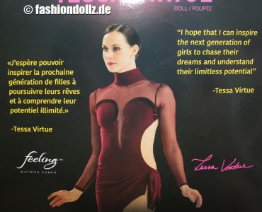 2020 Tessa Virtue Barbie #  GHT30