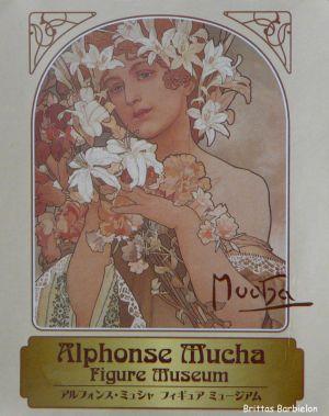 Alphonse Mucha Miniaturen