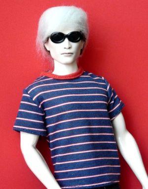 Andy Warhol OOAK Bild #09