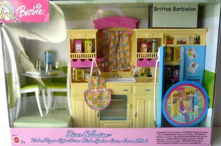 Barbie Decor Collection Kitchen Playset Mattel 2003 B6273 Bild #01