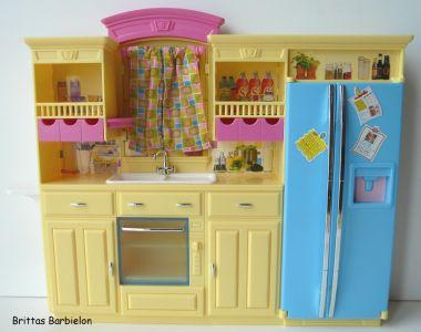 Barbie Decor Collection Kitchen Playset Mattel 2003 B6273 Bild #11