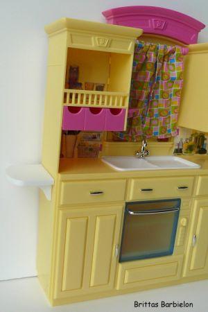Barbie Decor Collection Kitchen Playset Mattel 2003 B6273 Bild #12