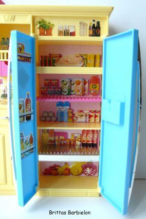 Barbie Decor Collection Kitchen Playset Mattel 2003 B6273 Bild #13