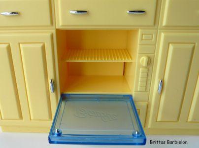Barbie Decor Collection Kitchen Playset Mattel 2003 B6273 Bild #14