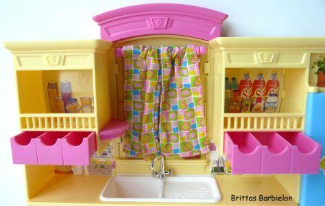 Barbie Decor Collection Kitchen Playset Mattel 2003 B6273 Bild #15