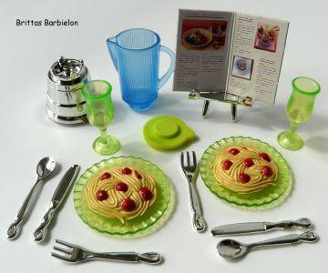 Barbie Decor Collection Kitchen Playset Mattel 2003 B6273 Bild #24