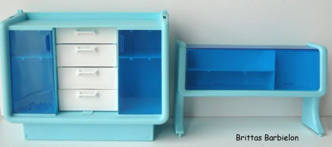 Barbie Dream Furniture Collecetion (blue) Bild #05