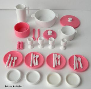 Barbie Dream Furniture Collecetion (blue) Bild #15
