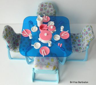 Barbie Dream Furniture Collecetion (blue) Bild #16