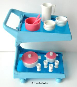 Barbie Dream Furniture Collecetion (blue) Bild #17