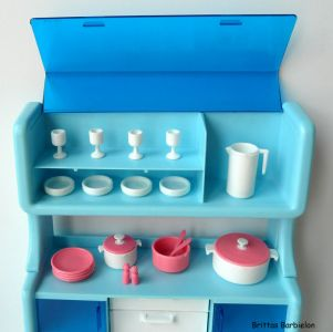 Barbie Dream Furniture Collecetion (blue) Bild #18