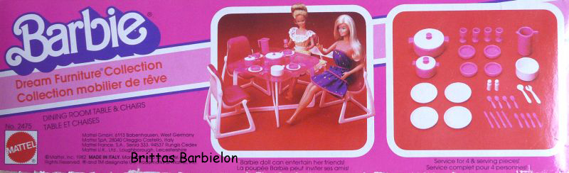 Barbie Dream Furniture Collecetion (pink) Bild #12