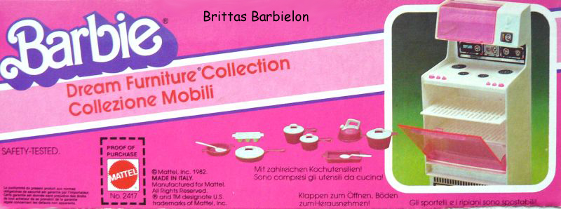 Barbie Dream Furniture Collecetion (pink) Bild #24