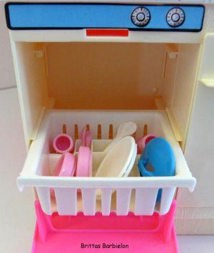 Barbie Dream Kitchen Mattel Bild #36