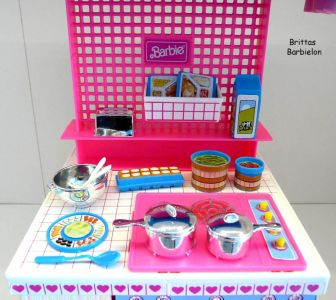 Barbie Dream Kitchen Mattel Bild #37