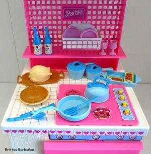 Barbie Dream Kitchen Mattel Bild #38