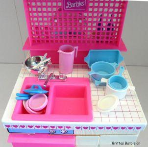 Barbie Dream Kitchen Mattel Bild #39